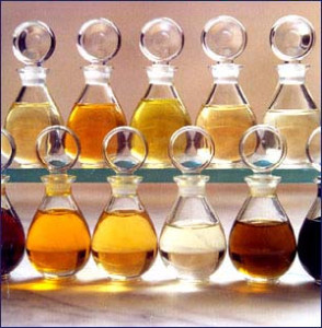 image of aromatherapy bottles